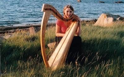 Marin Lhopiteau Harpe celtique 37 cordes
