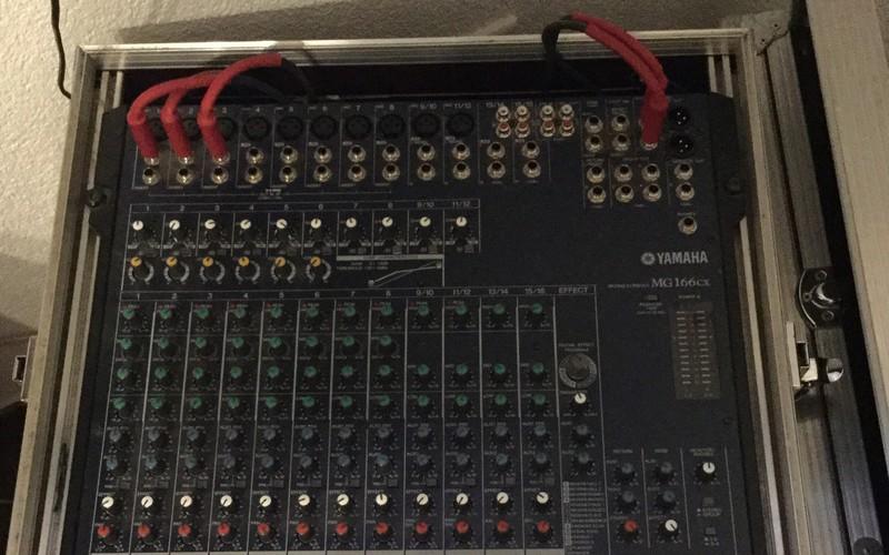 Yamaha Mg166cx